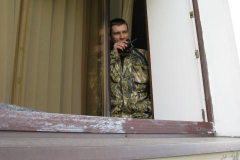 """ЗАМЕНА КУПОЛЬНЫХ ВИДЕОКАМЕР В НПФ """"ГАЗФОНД"""""""